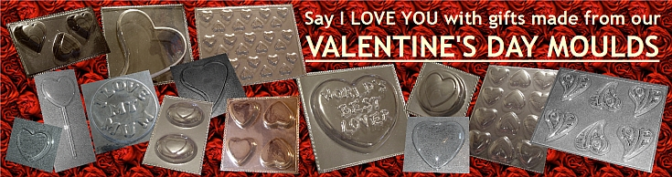 VALENTINES DAY MOLDS MOULDS