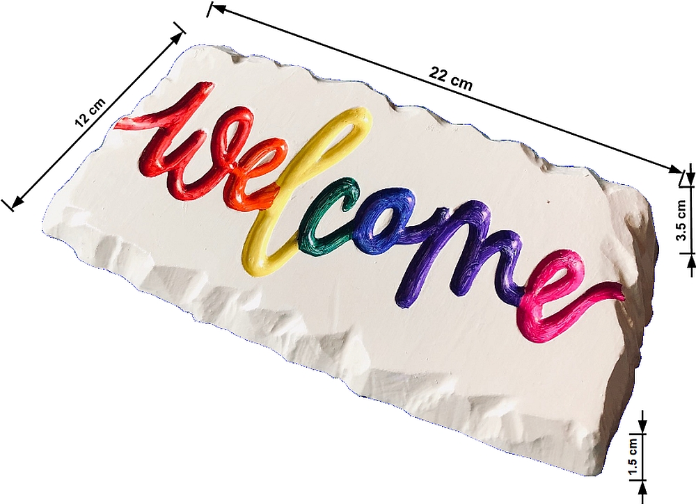WELCOME SIGN CONCRETE MOULD